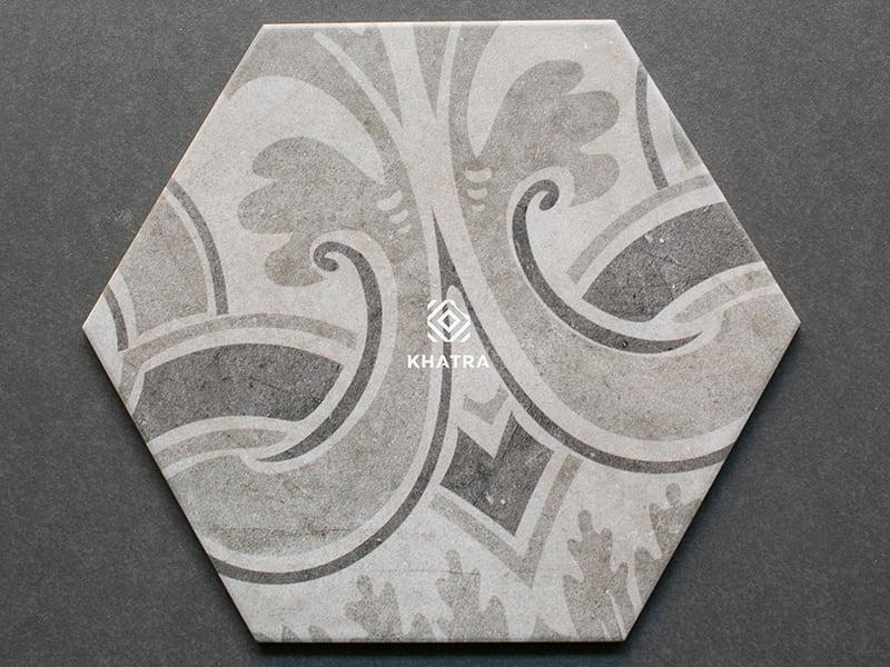 Mẫu gạch lục giác 26009H-3