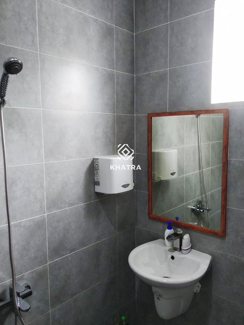 Gạch men Grey ốp nhà tắm