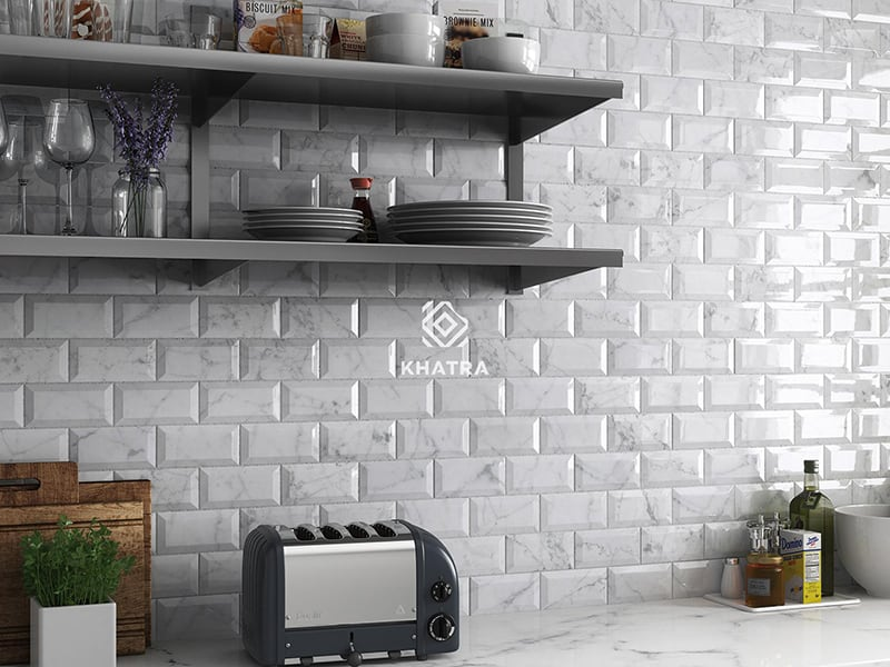 Gạch thẻ Marble 75x150