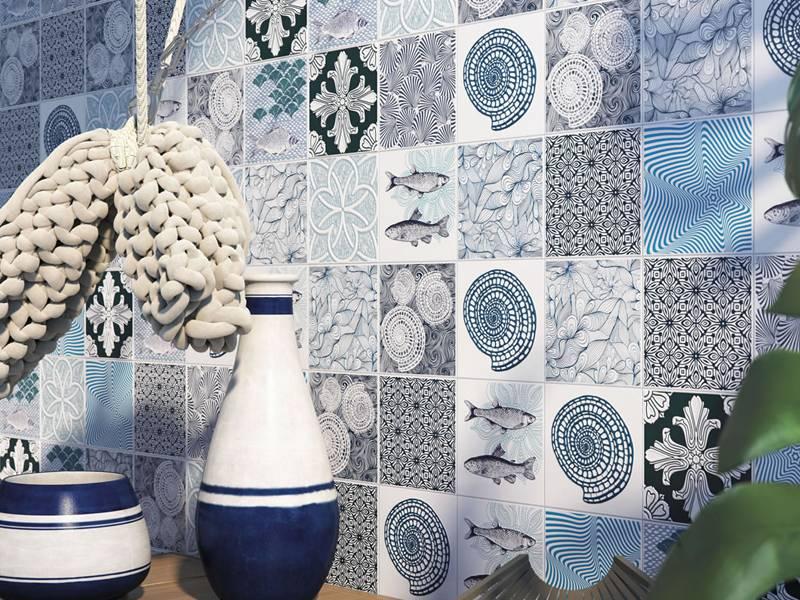 Gạch Porcelain KHA38 ốp tường