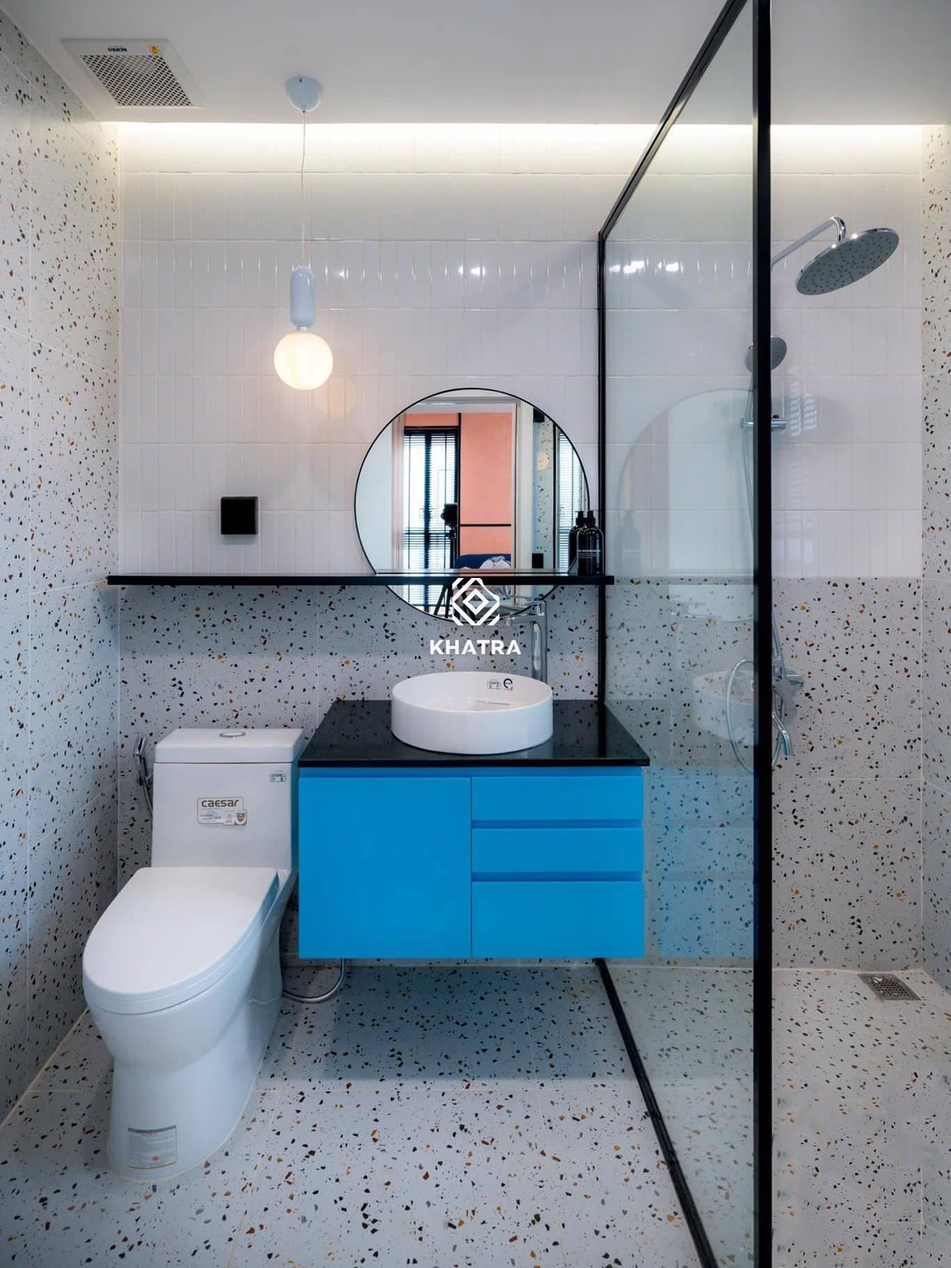 D6637 phối gạch thẻ ốp lát toilet