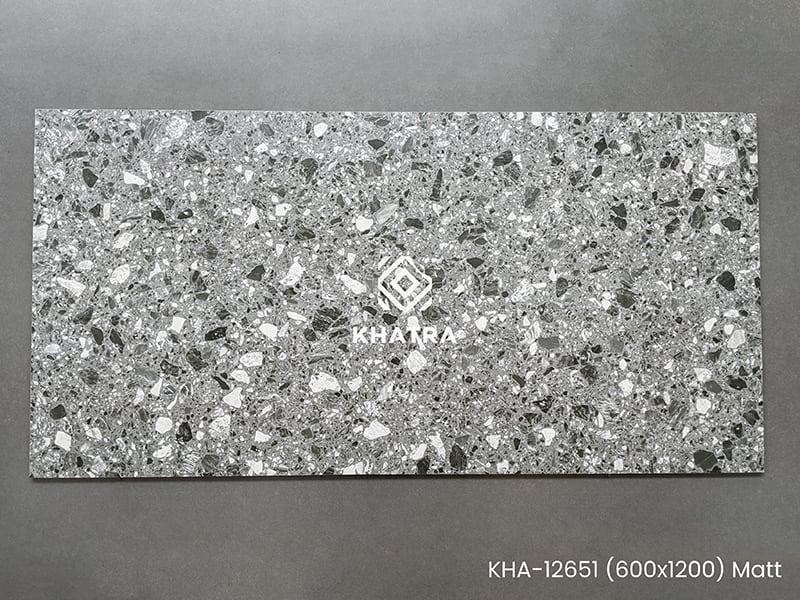 Mẫu gạch 600x1200 Terrazzo KHA-12651