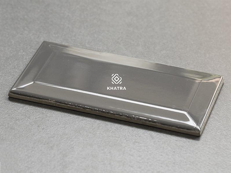 Gạch thẻ Grey 75x150