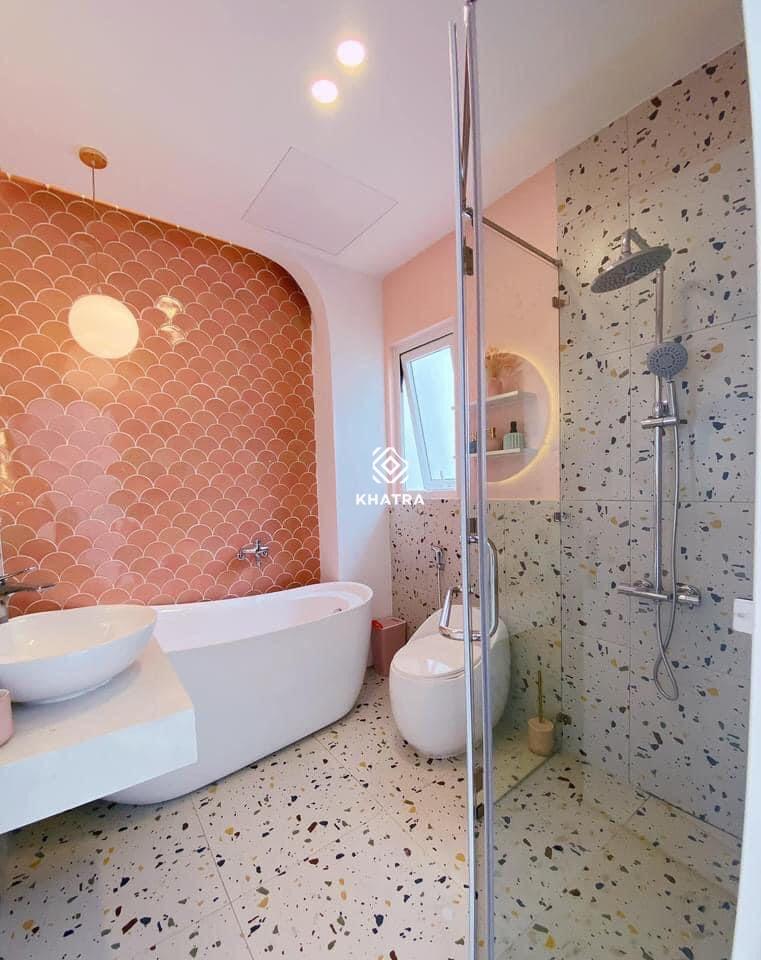Gạch Terrazzo D6632 ốp lát nhà vệ sinh