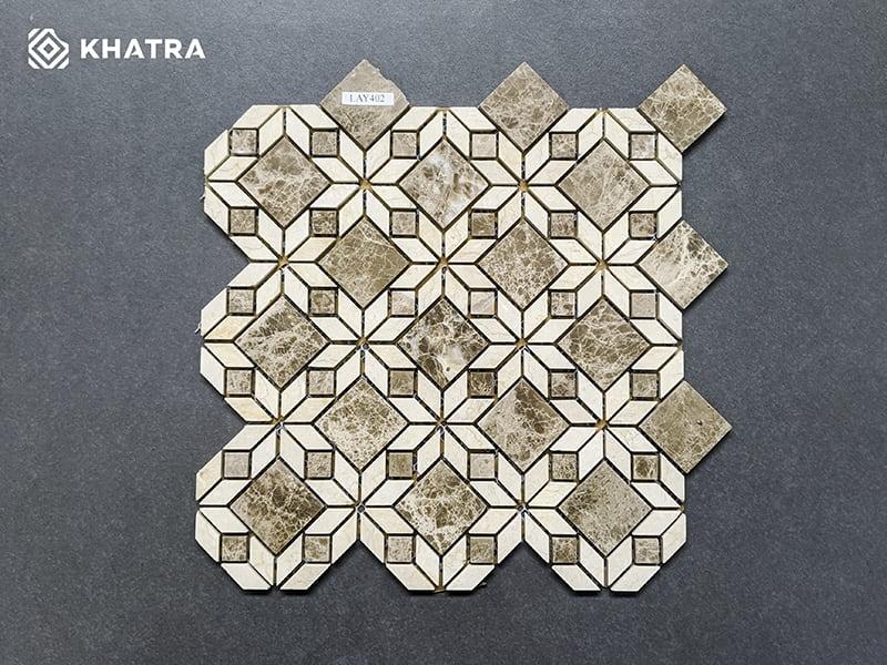 Mosaic LAY402 ốp nhà tắm