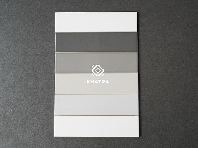 Bộ 6 màu gạch thẻ 50x200