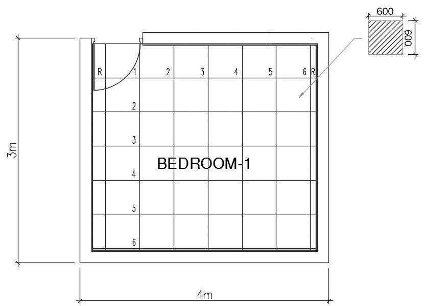 Cách tính m2 gạch lát nền
