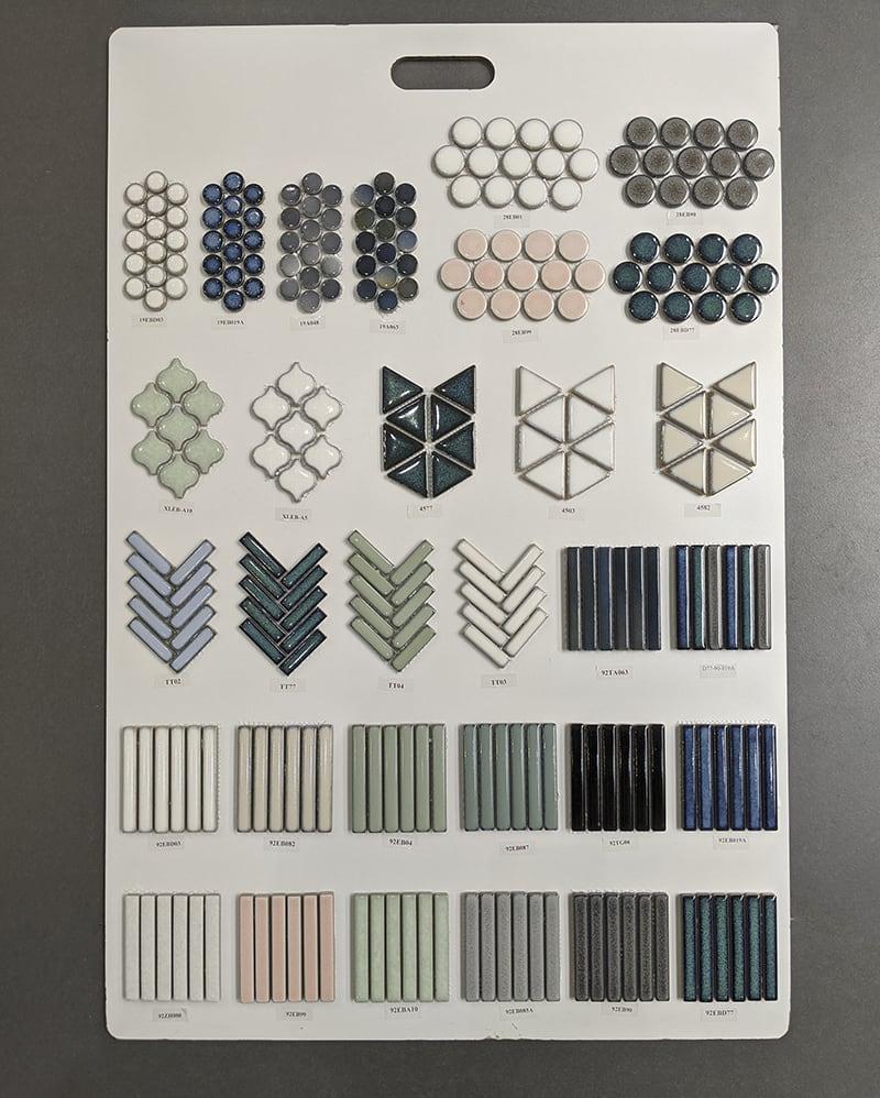 Các mẫu gạch Stripes