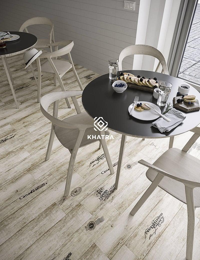 Gạch gỗ chữ nhạt N8153041H