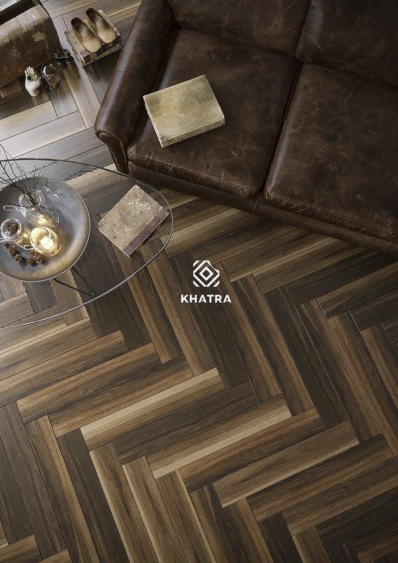 Gạch gỗ Walnut W1593105 - 150x900