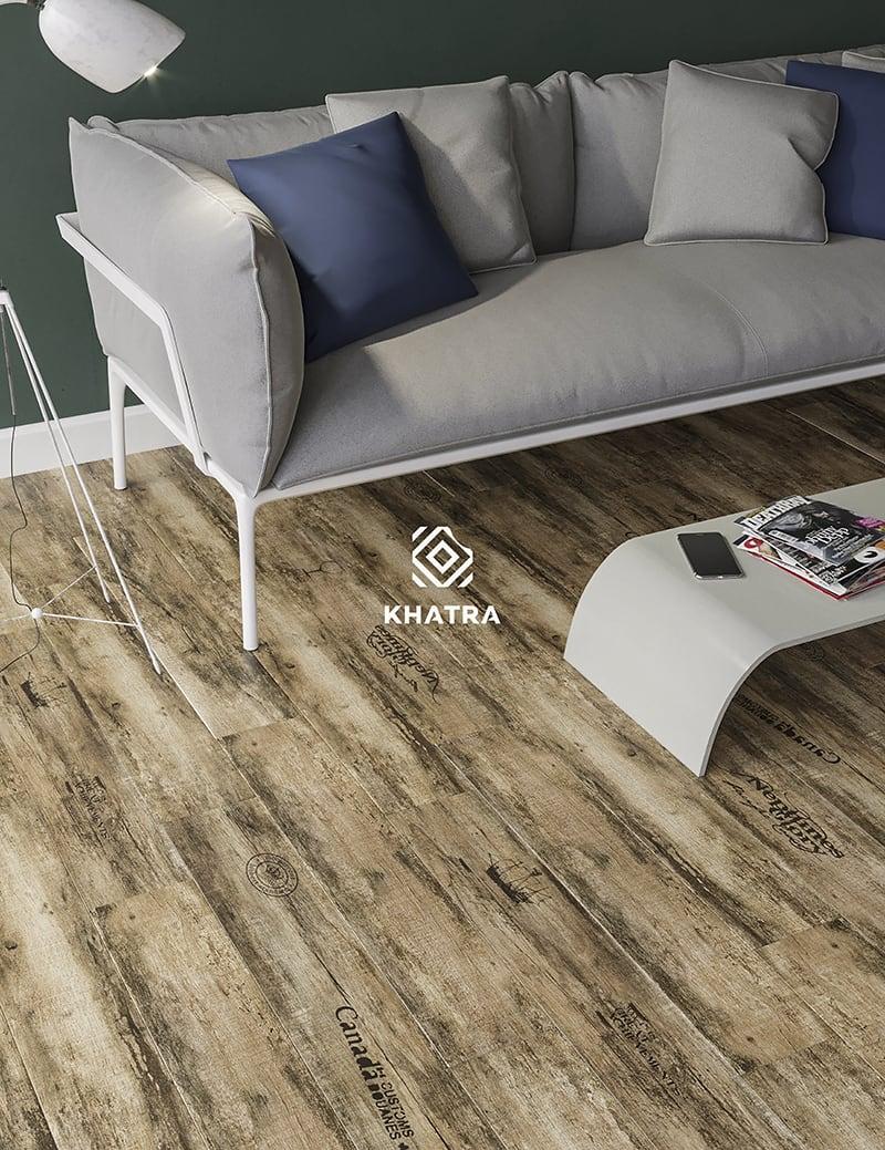 Gạch gỗ chữ đậm N8153043H