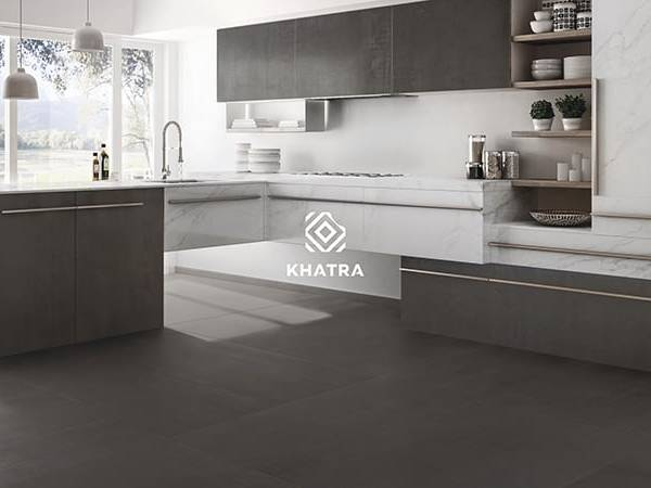 Metal tiles kết hợp gạch Marble