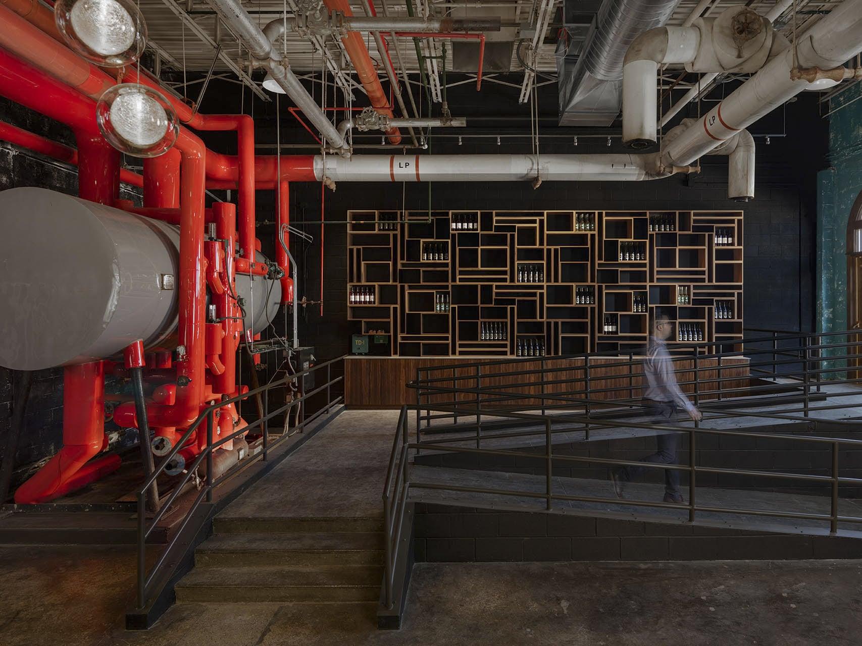 Nhà xưởng tại thành phố Detroit