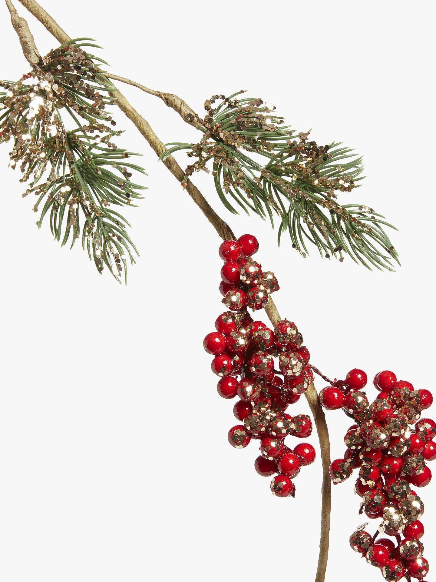Nhánh cây trang trí Noel phong cách Nhật Bản