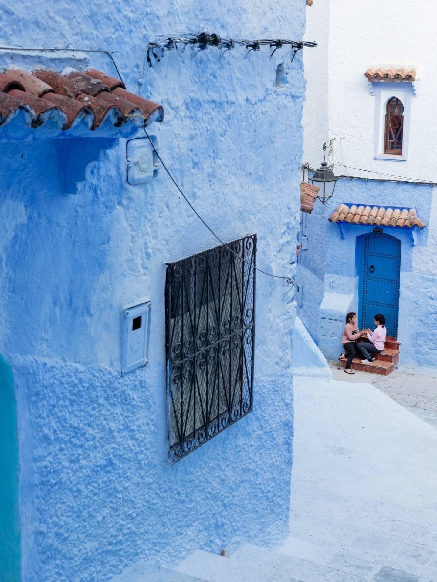 Moroccos Blue City