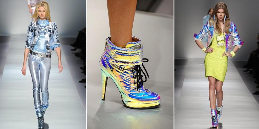 Hologram xuất hiện trên sàn diễn thời trang