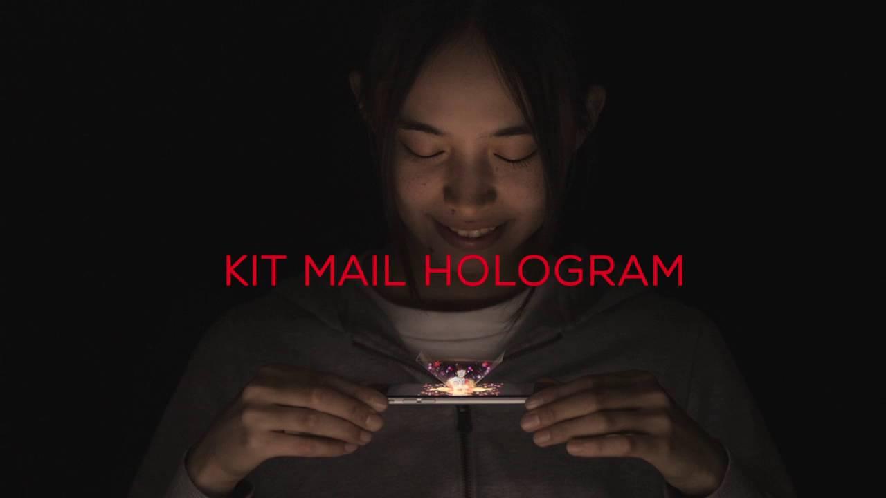 Kitkat Mail Hologram
