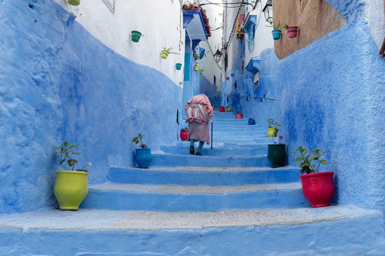 Thành phố xanh ở Moroccos