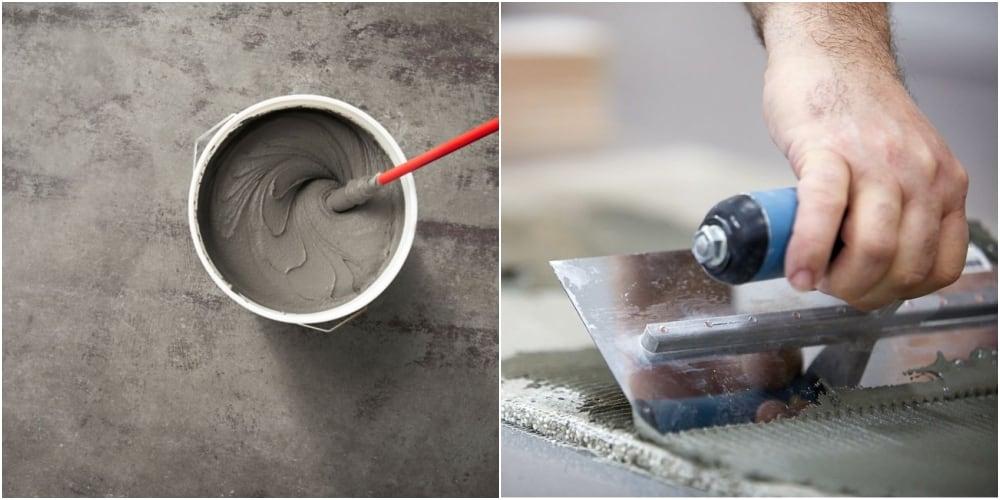 Chọn loại vữa phù hợp để dán gạch