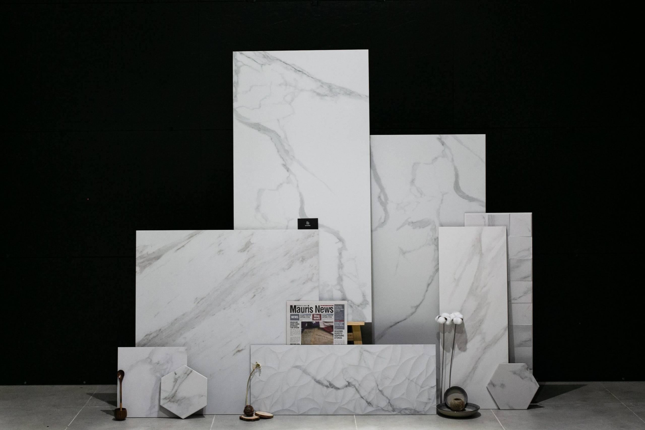 Flatlay Marble