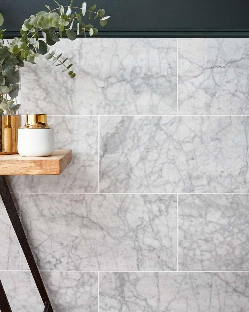Gạch Marble Carrara 300x600 ốp tường