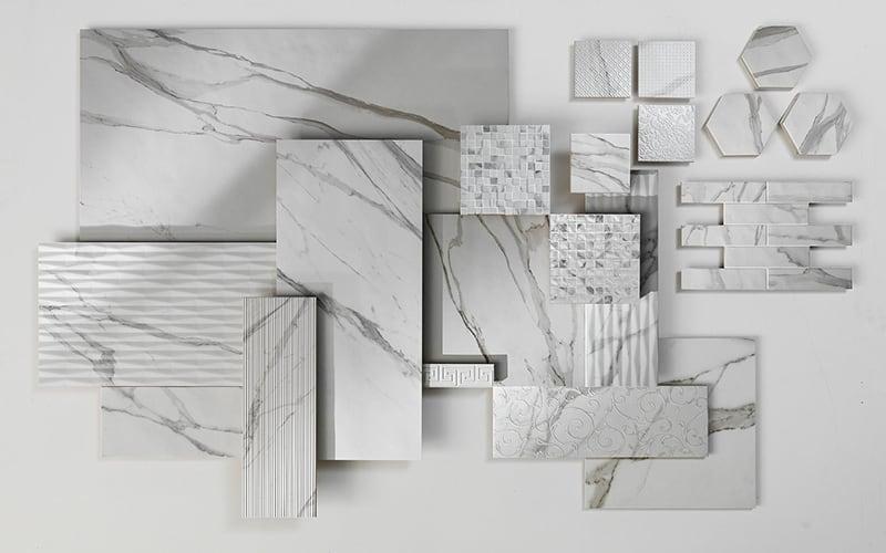 Các loại gạch Marble vân khói