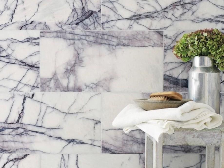 Gạch ốp tường Marble Lilac