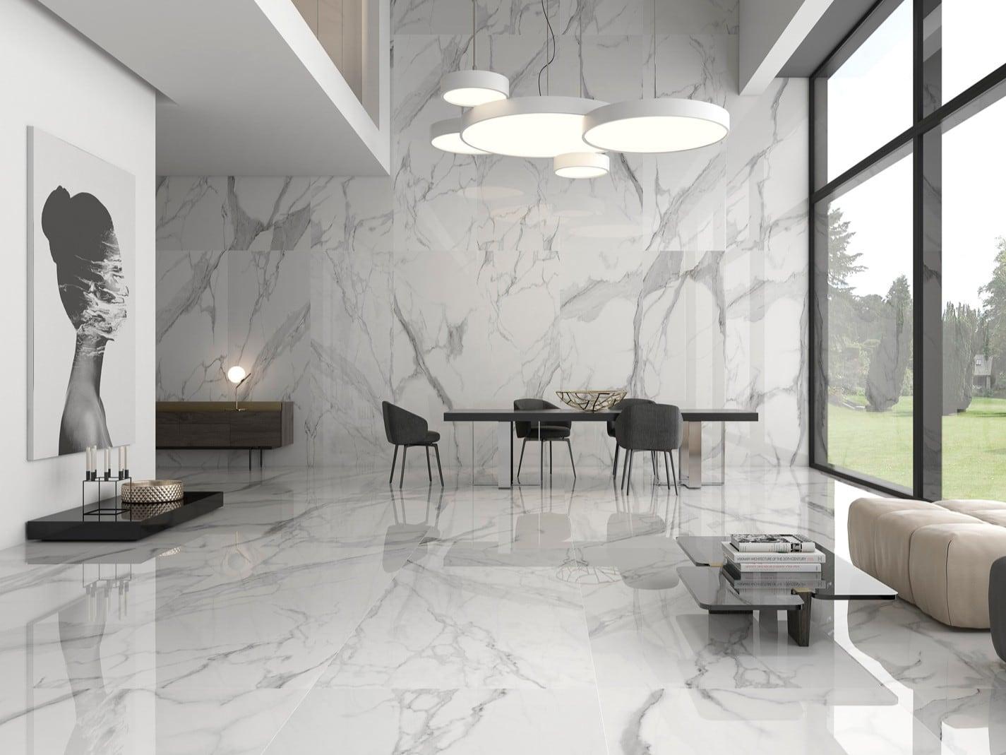 Marble Texture ốp lát sảnh chờ khách sạn