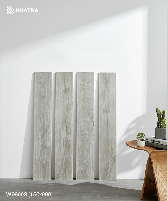 Mẫu gạch vân gỗ xám W96003