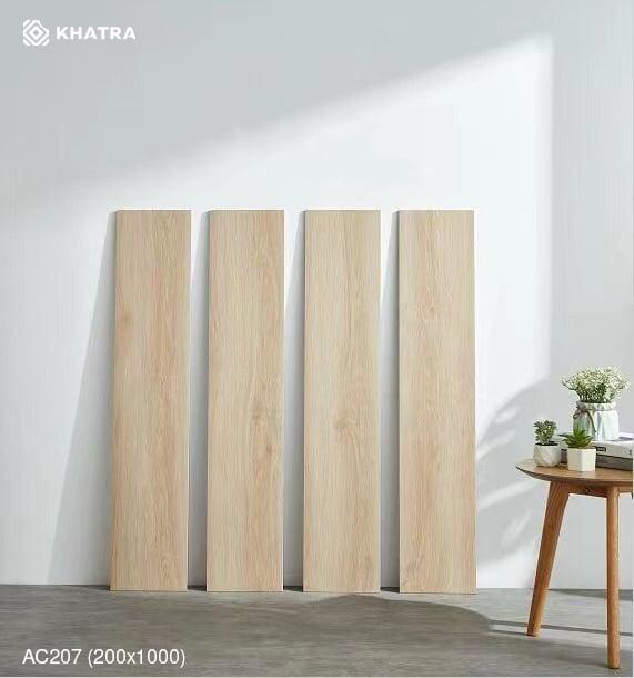 Mẫu gạch gỗ KHA-207 200x1000