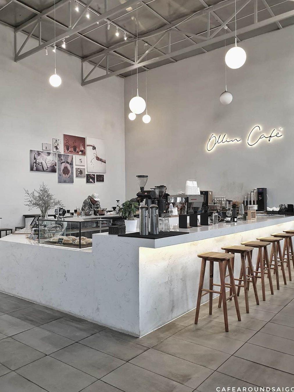 Ollin Cafe phong cách Minimal