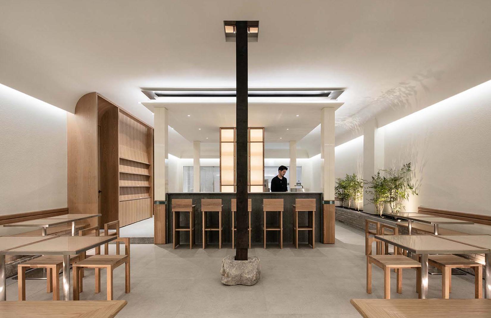 Thiết kế quán cafe theo phong cách Minimalist
