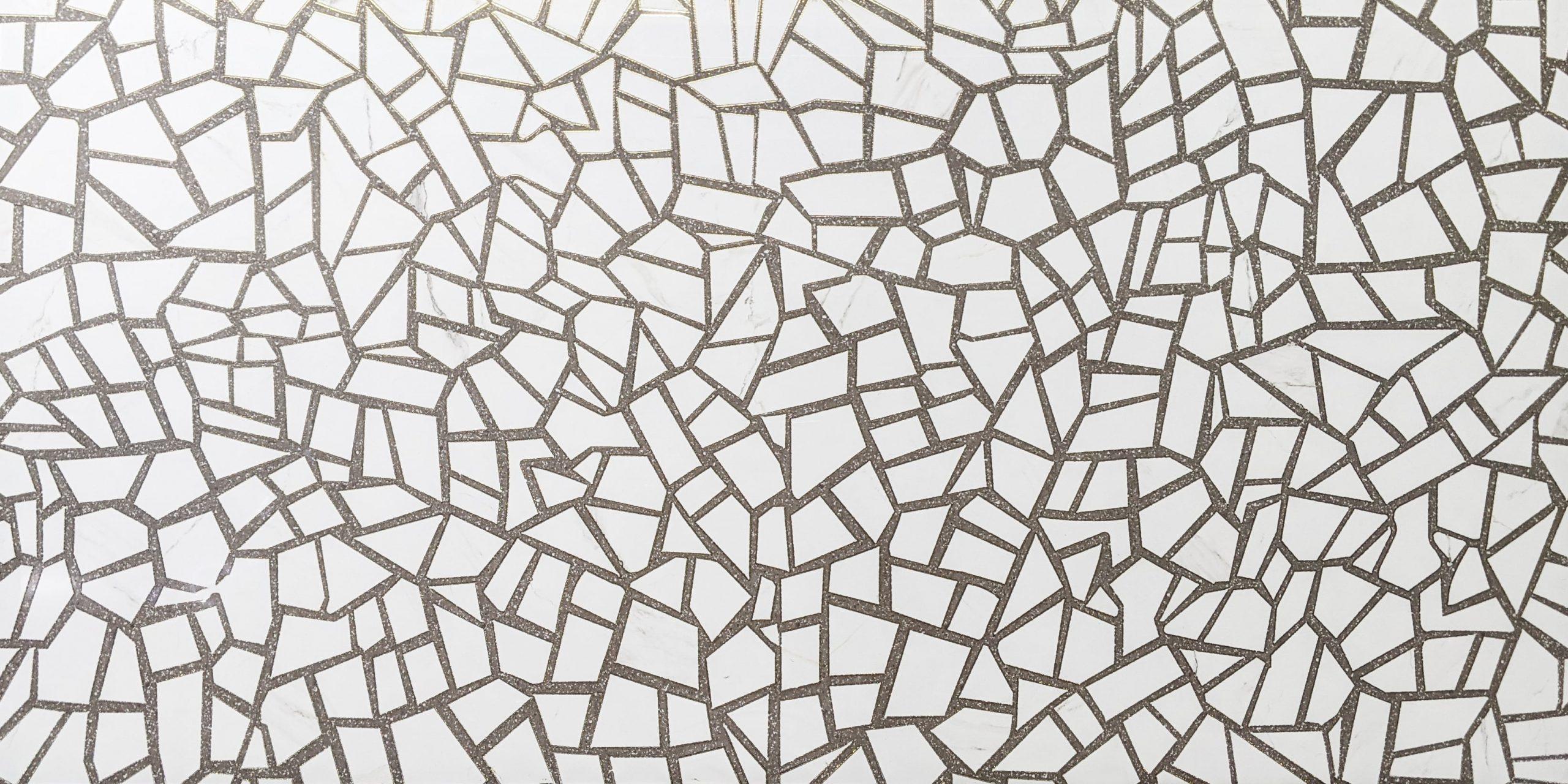 Map gạch Terrazzo nhũ vàng KHTR61288