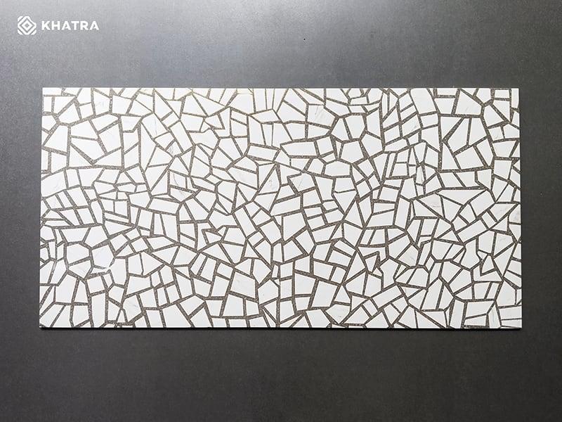 Gạch Terrazzo nhũ vàng KHTR61288