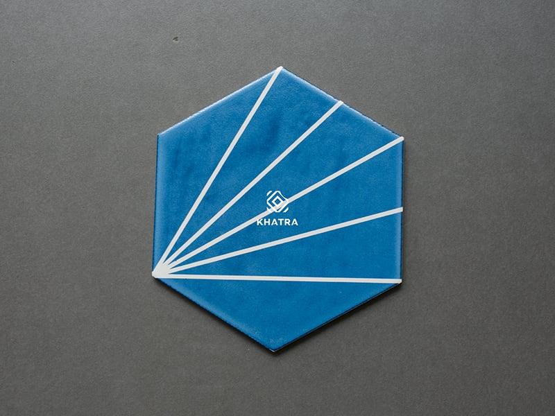 Gạch lục giác xanh XPM26149