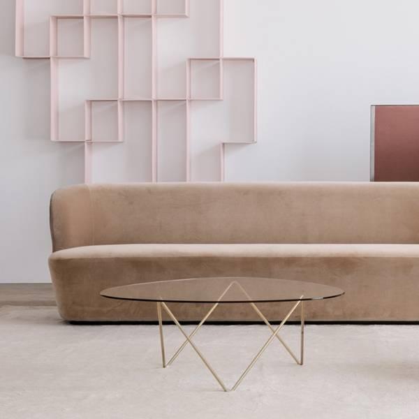 Bàn sofa nhỏ gọn kiểu dáng đơn giản