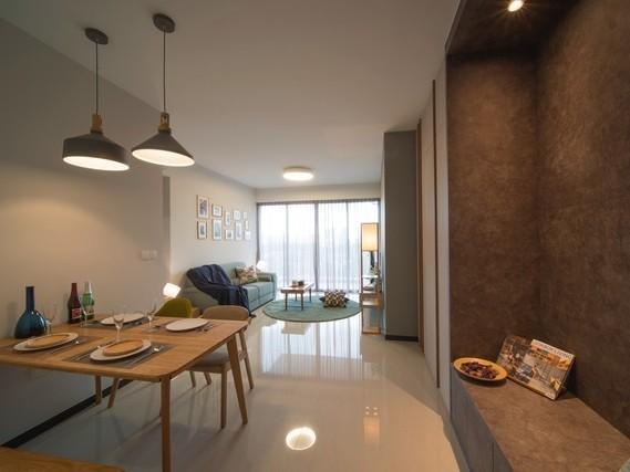 Căn hộ chung cư với thiết kế tận dụng ánh sáng tự nhiên