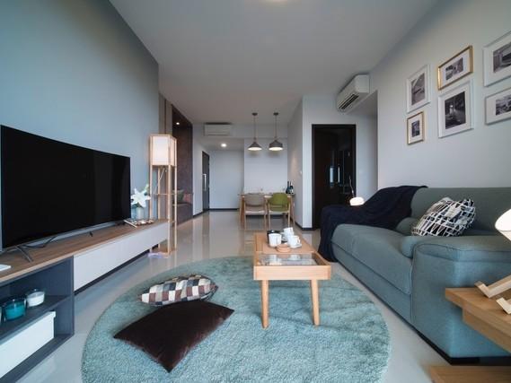 Căn hộ chung cư sử dụng ánh sáng tự nhiên