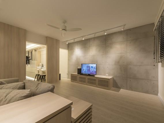 Mẫu thiết kế căn hộ Minimalist