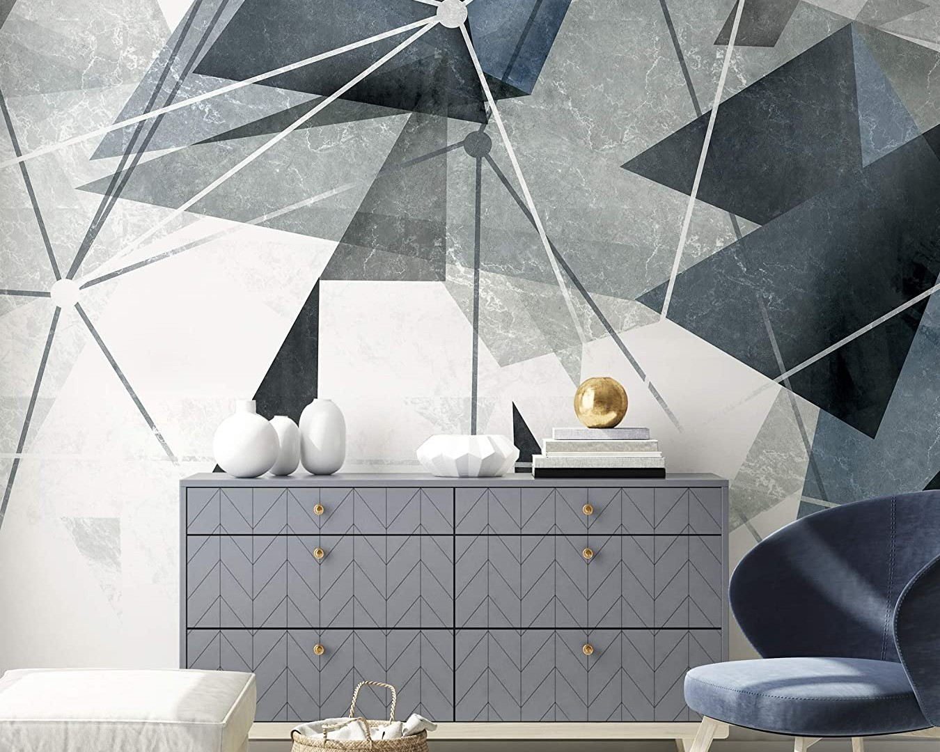 Sử dụng hoạ tiết hình học trong trang trí nhà ở