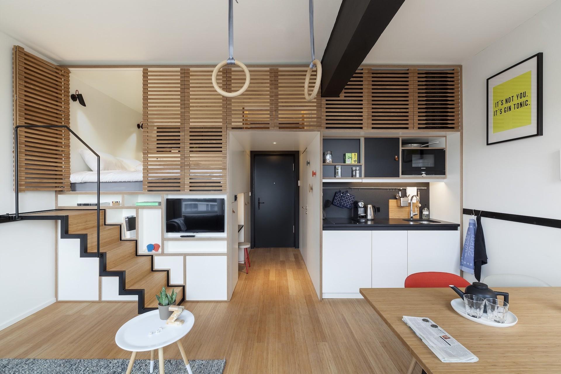 Thiết kế căn hộ nhỏ cho người sống một mình
