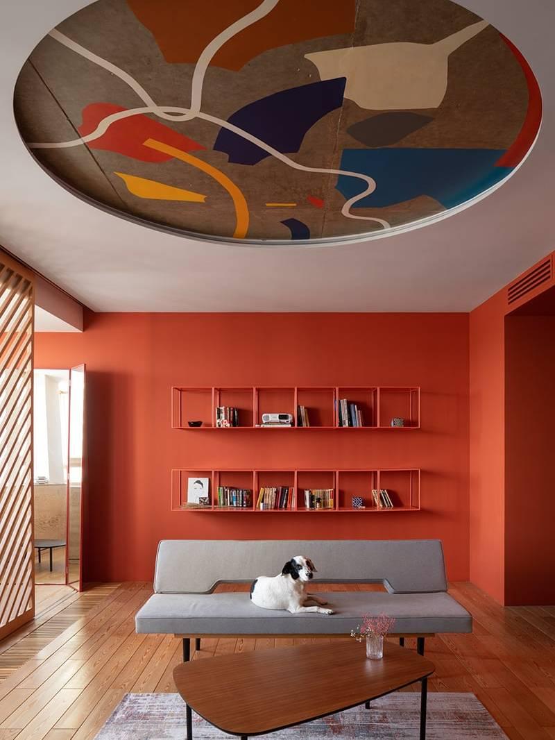 Thiết kế phòng khách căn hộ 2PN
