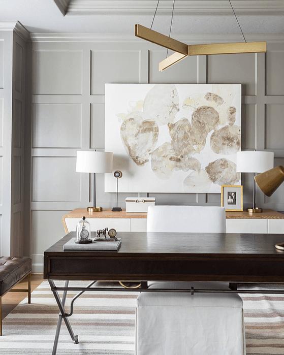 Thiết kế nội thất cho phòng làm việc tại nhà