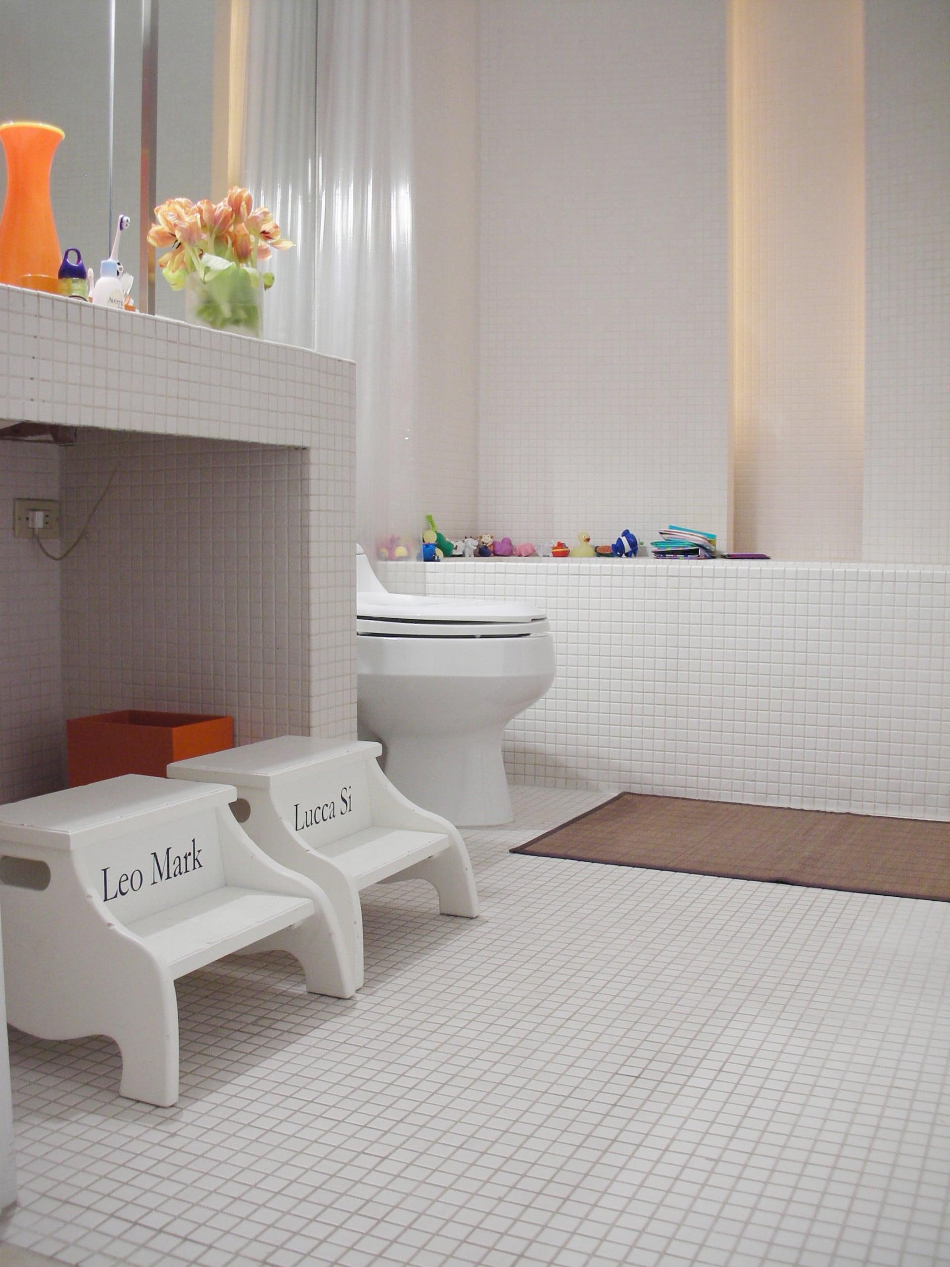Gạch Mosaic Porcelain lát nền nhà tắm