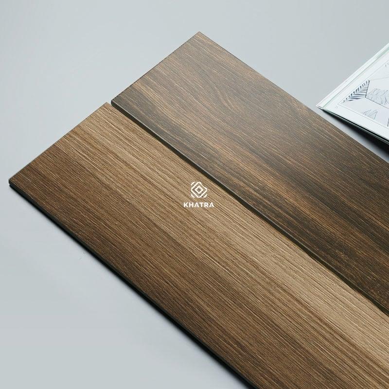 Gạch giả gỗ vân Walnut 150x900