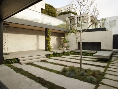 Nhà phố thiết kế sân vườn kiểu Nhật