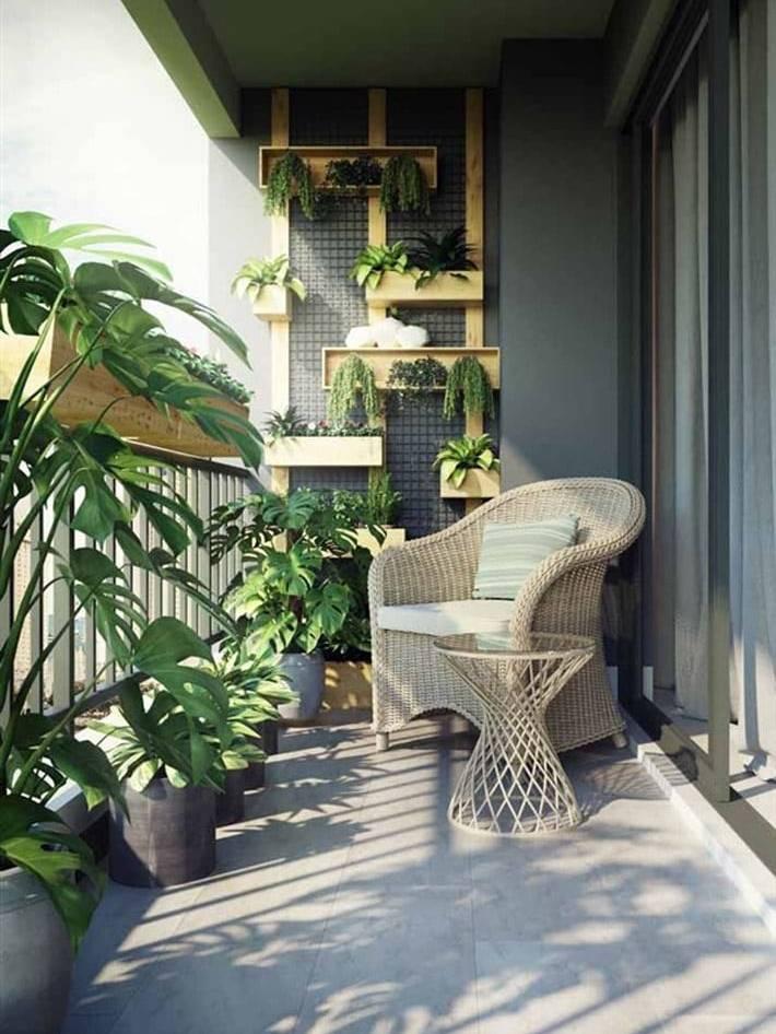 Thiết kế ban công căn hộ chung cư