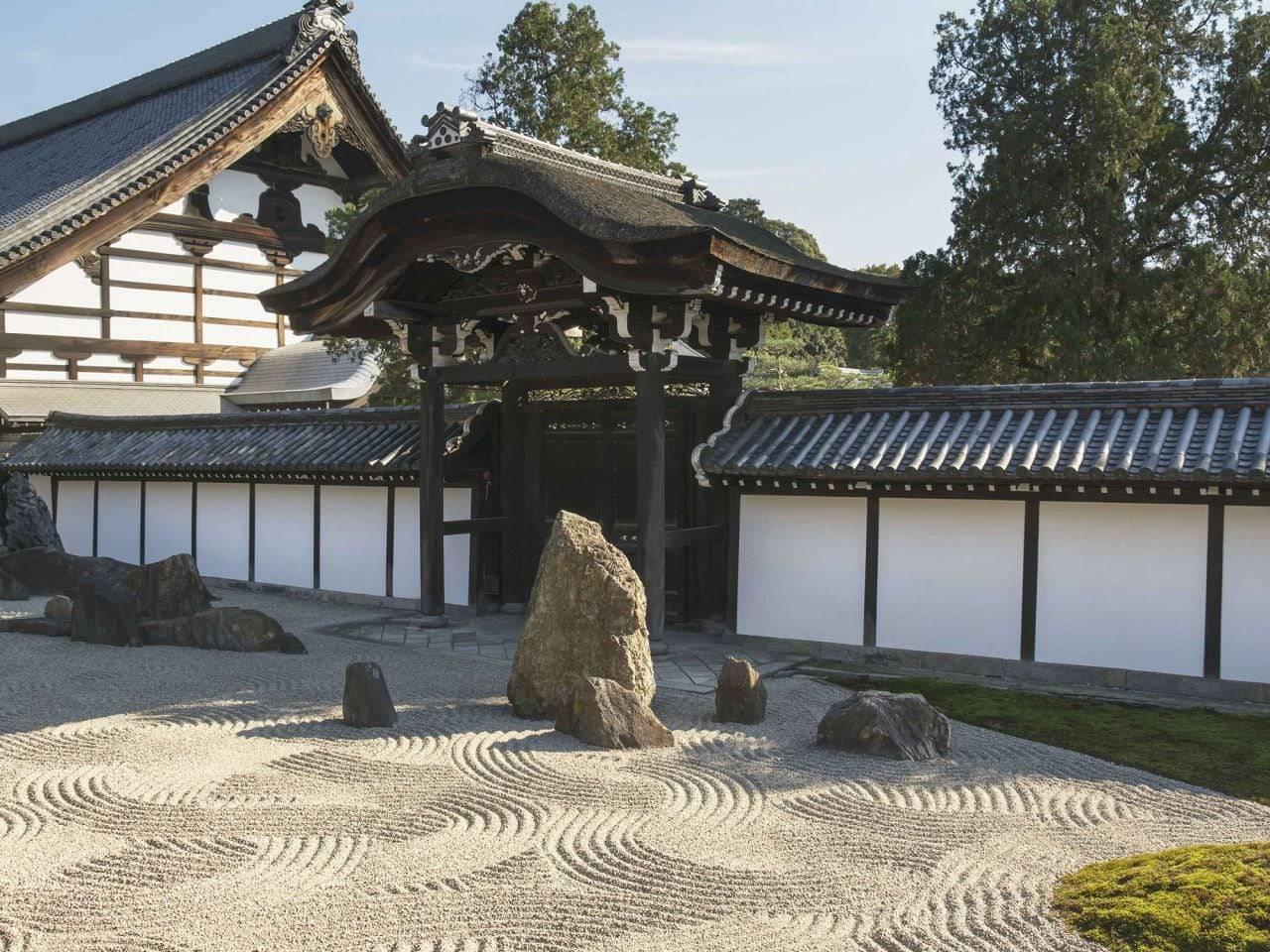 Sân vườn bằng sỏi kiểu Nhật