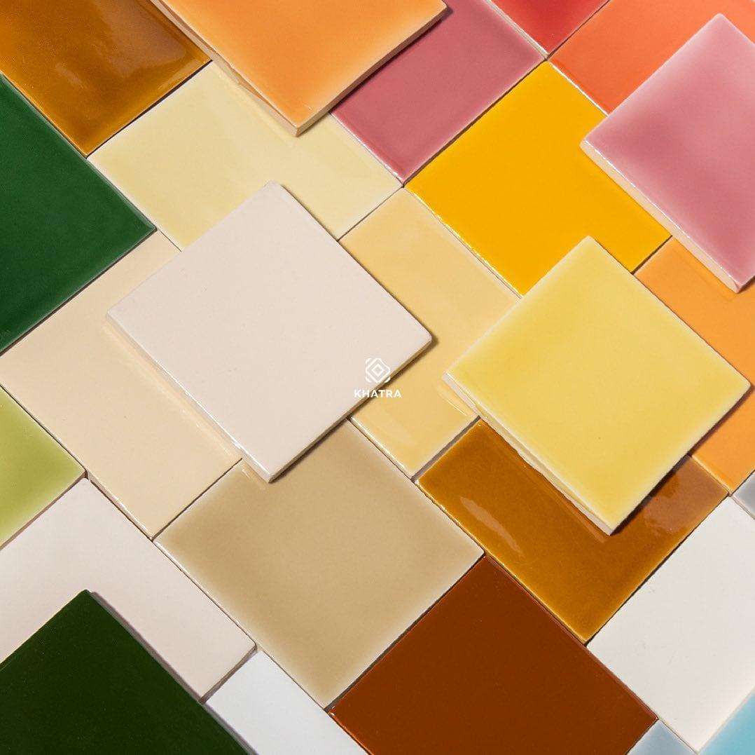 Gạch men dạng thẻ vuông 100x100