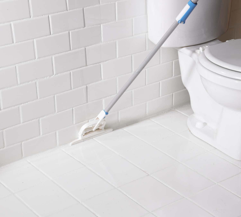 Nền nhà vệ sinh sử dụng keo chà ron cao cấp